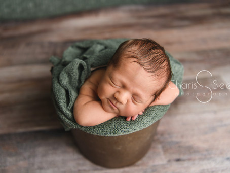 Newborn Photography COVID-19 Studio Cleaning