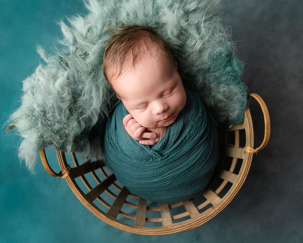 Teal Blue   Gauzy Wrap by Red Owl and Handmade Wool Layer by Lavender Dreams