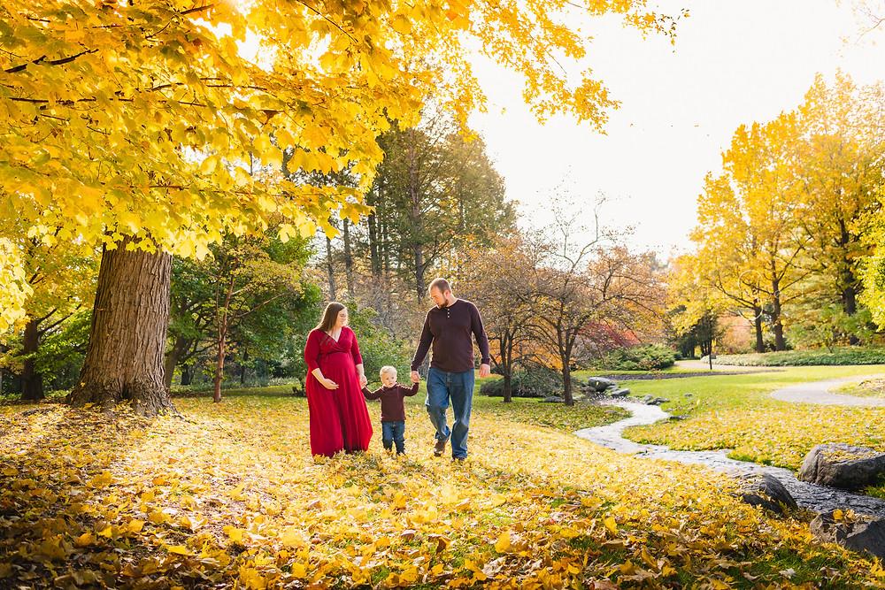 Dow gardens Midland Mi family portrait