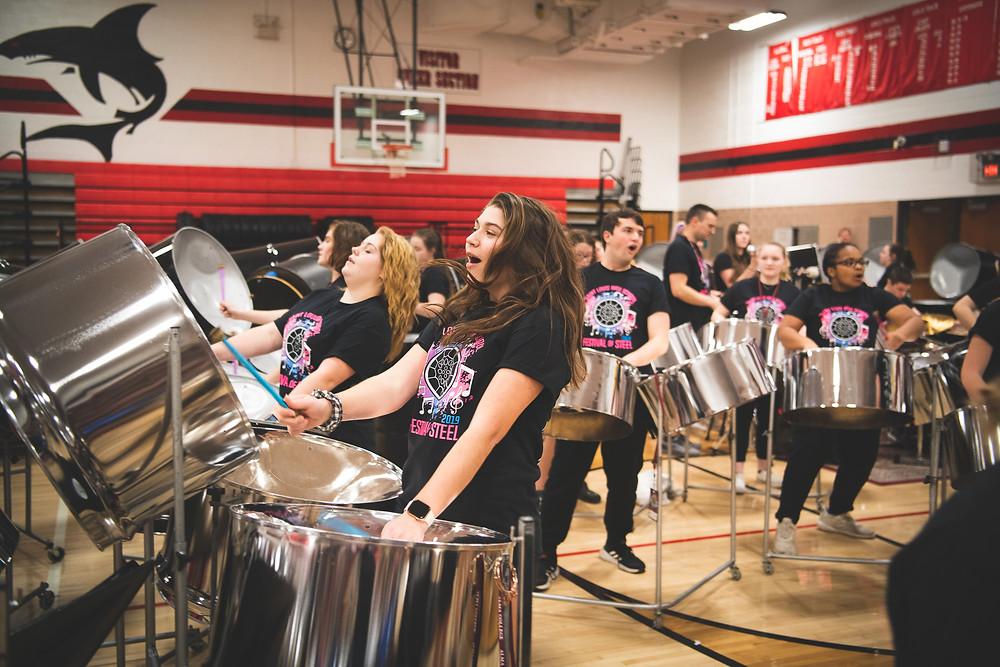 steel drum concert