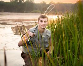 senior picture fishing