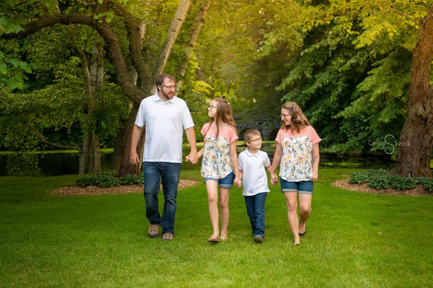 family pictures secret garden