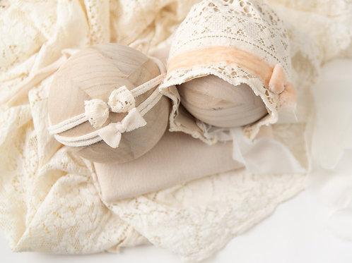 Vanilla Boho Vintage Lace Set