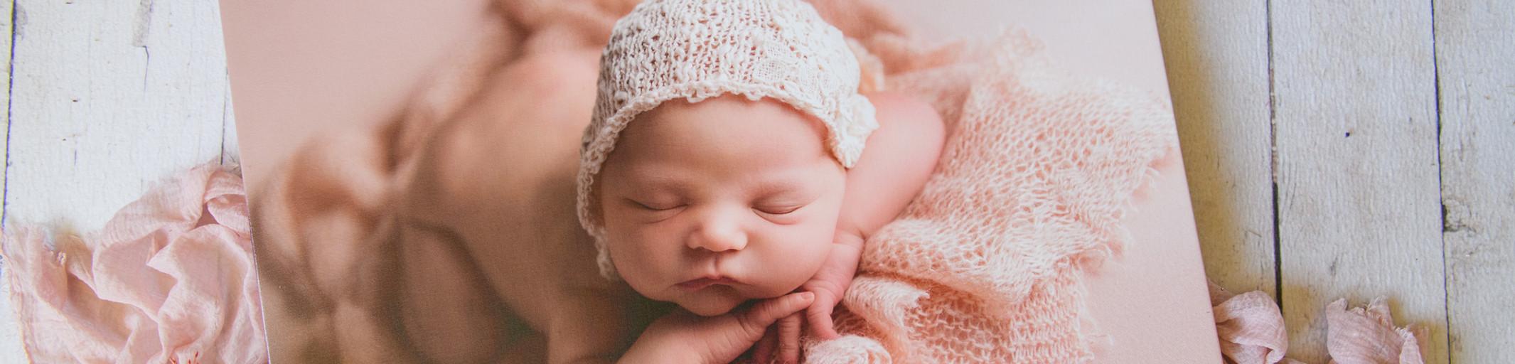 newborn canvas