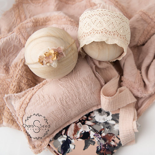 Blush Floral Newborn Set