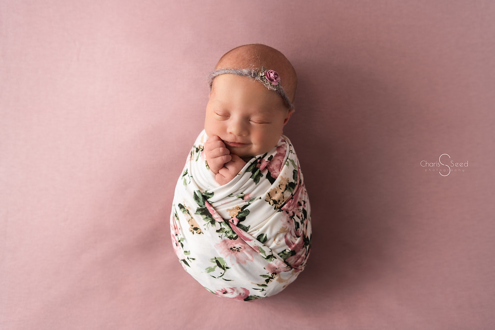 Newborn wrapping tutorial