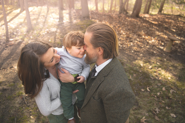 Young family photography