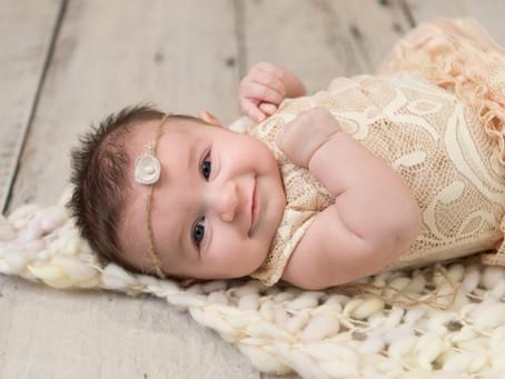 Baby Addysyn-A Milestone Session