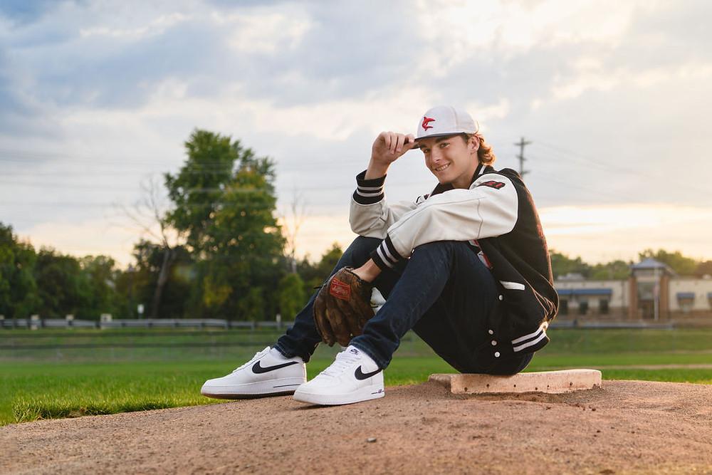 Baseball Pitchers senior pics