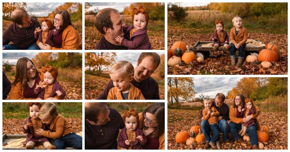 Fall Pumpkin Photo Session