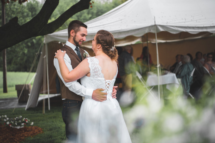 bride and groom dancing wedding photographer