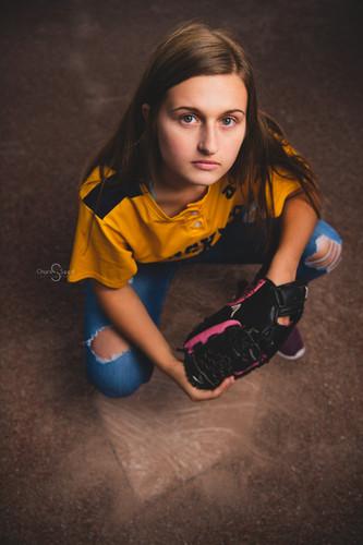 softball senior girl