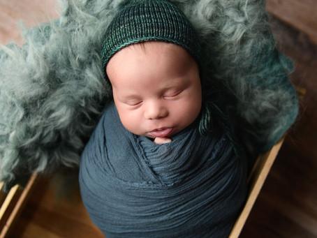 Baby Warren | Midland Mt. Pleasant Newborn Photographer
