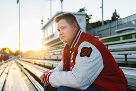 Senior guys varsity jacket