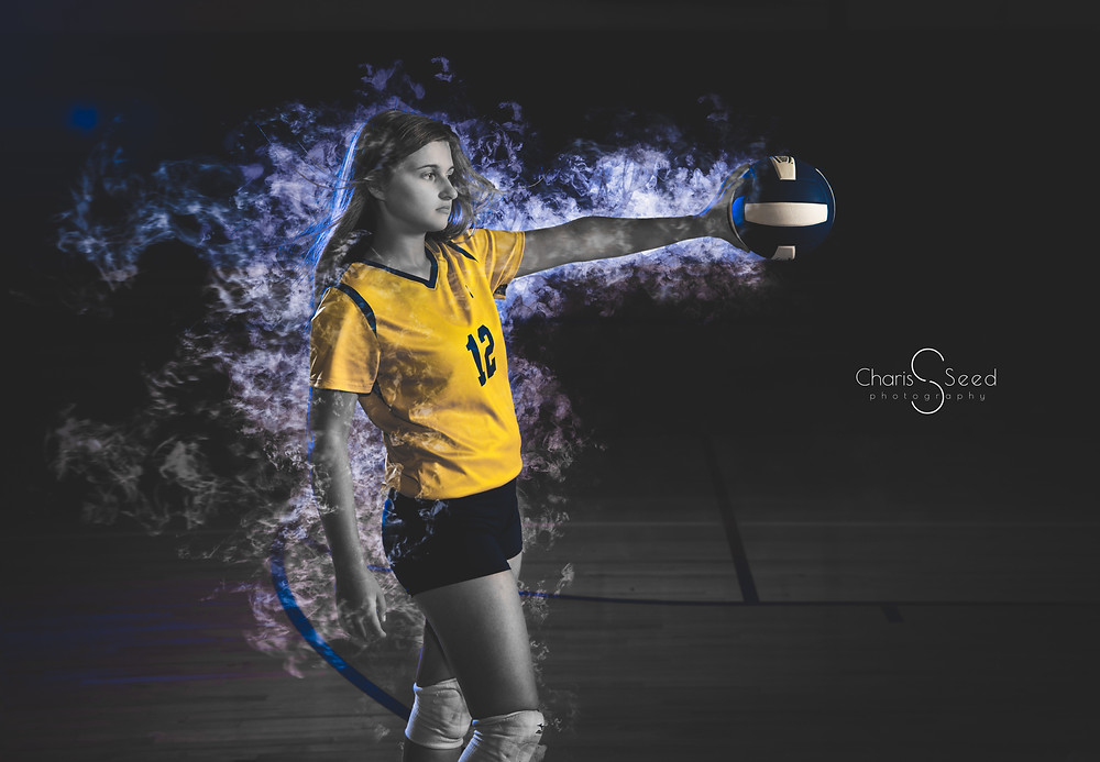 volleyball senior pic