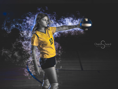 Senior Girl Sports Pictures