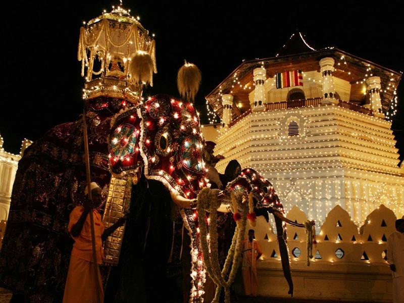Kandy-Procession.