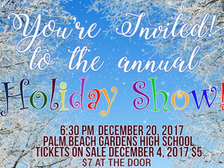 Get Your Tickets For The Holiday Show!