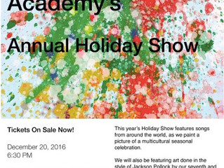 Holiday Show Tickets On Sale Monday!