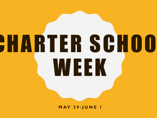 Charter School Week May 29-June 1