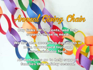It's Time For The Giving Chain!