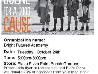 Blaze Pizza Family Night
