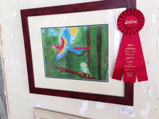 BFA Art Students Honored At ArtiGras!