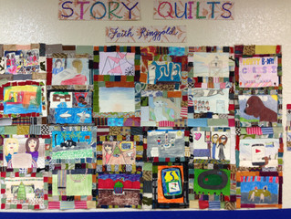 Faith Ringgold Inspired Quilts