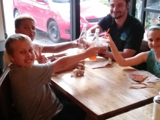 Pictures From Family Night At Blaze Pizza