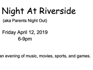 Friday Night At The Riverside