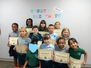 September Students Of The Month