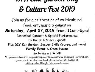 BFA EDU-Garden Day & Culture Fest