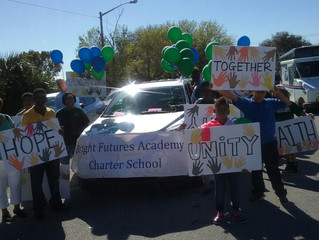 Bright Futures Academy Marches In MLK Parade
