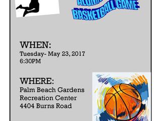 Annual Student-Alumni-Staff Basketball Game!