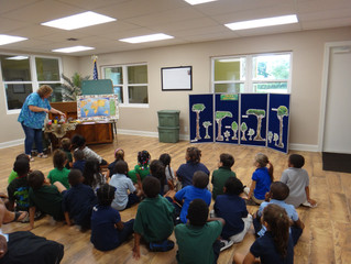 Kindergarten In-House Field Trip -- Hobe Sound Nature Center