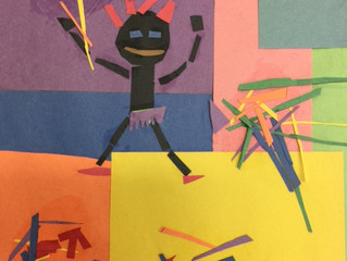 Fourth Grade Matisse Pieces