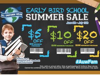 All Uniform Wear Summer Savings!