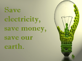 Earth Week - Power Down Thursday