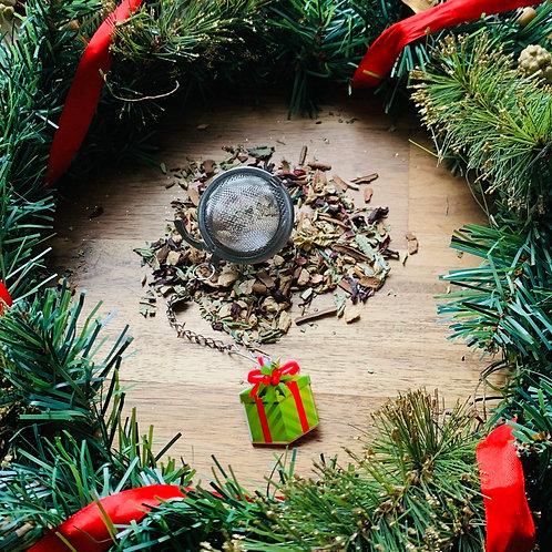 Christmas Present Tea Infuser