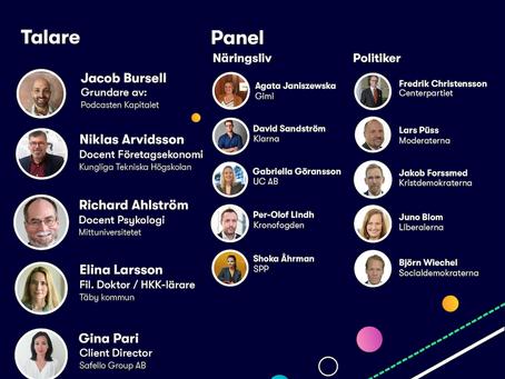 Digitalt event om Finansiell förståelse med bl.a. Gimi och Kronofogden