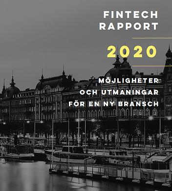 FinTech rapport 2020 | Swedish Fintech Association
