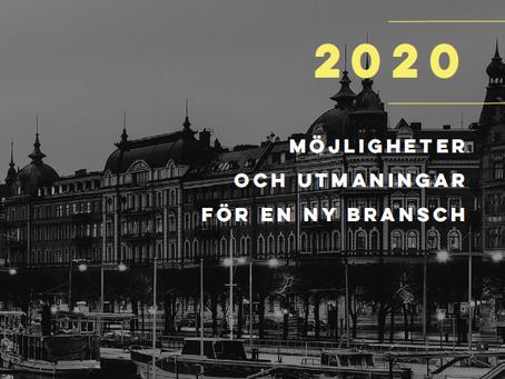 """""""Fintech-rapport 2020 - utmaningar och möjligheter för en ny bransch"""""""