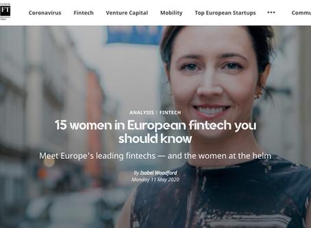Fyra svenskor på lista över mest inflytelserika kvinnor inom Fintech