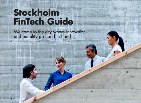 Stockholm is Europe's third-biggest FinTech hub, new report shows