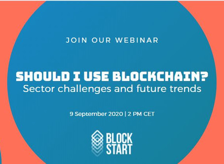Should I use blockchain? Sector challenges and future trends