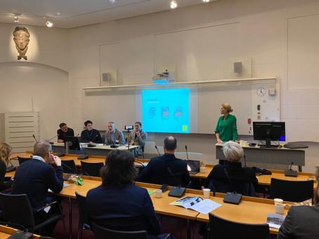 Rapportsläpp och paneldiskussion i Riksdagen