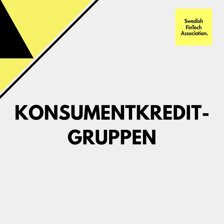 Möte för konsumentkreditgruppen