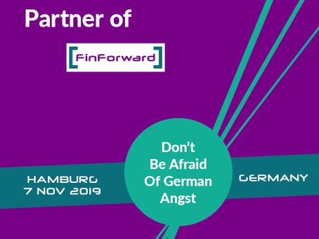 Go to FinForward in Hamburg the 7th of November