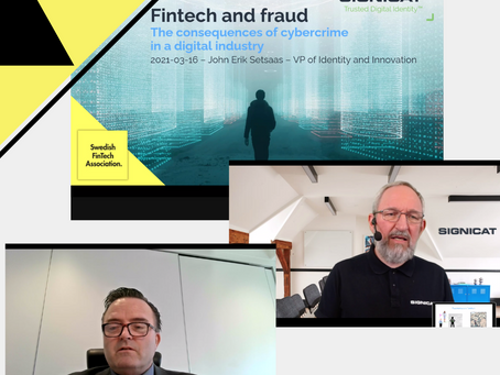 Did you miss SweFinTechs webinar - fintech and fraud? Watch the recorded session here!