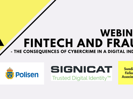 Webinar: Fintech and Fraud- The Consequences of Cybercrime in a Digital Industry